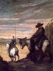 Don Quichotte-Daumier-small